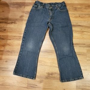 Boys Boot Cut Jeans Size 10H